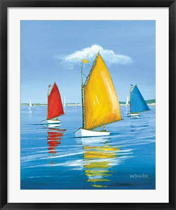 Framed Newport Regatta Print