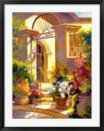 Framed Fragrant Entrance Print