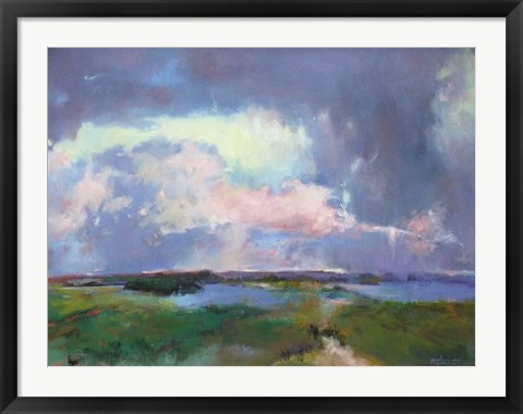 Framed Converging Storms Print