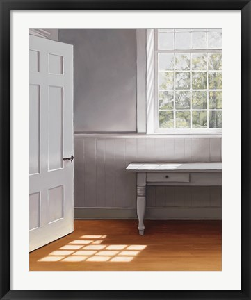 Framed Open Door Print