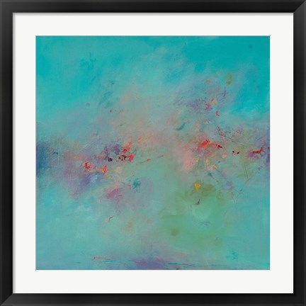Framed Untitled Abstract No. 3 Print
