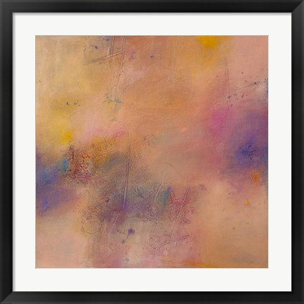 Framed Untitled Abstract No. 7 Print