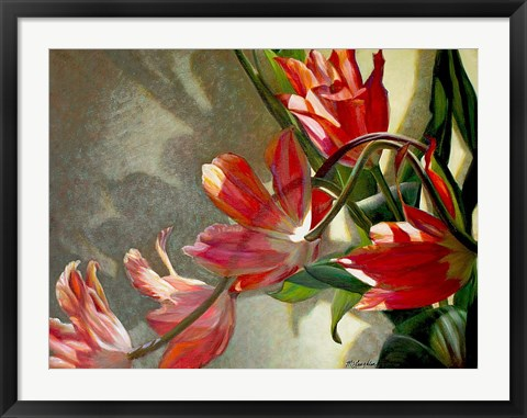 Framed Shades of Holland Print