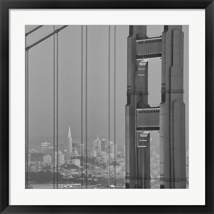 Framed Hendrik Point Print