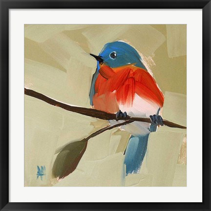 Framed Bluebird No. 21 Print