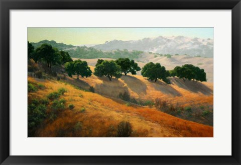 Framed Summer in the Hills Print