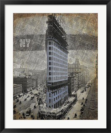 Framed New York I Print