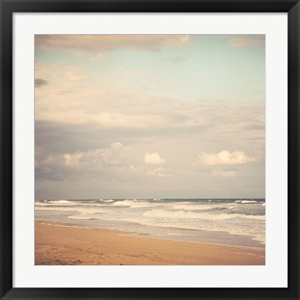 Framed Memories of the Beach Print