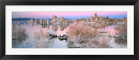 Framed Mono Lake Sunset Print