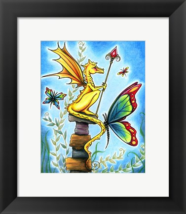 Framed Tiny Sentry Print