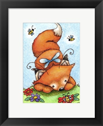 Framed Won't You Bee My Friend Print