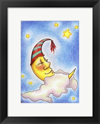 Framed Sweet Dreams to You Print