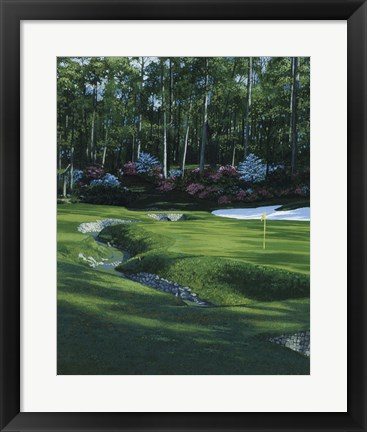 Framed Golf Course 4 Print