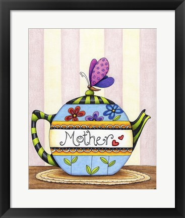 Framed Mother's Tea Print