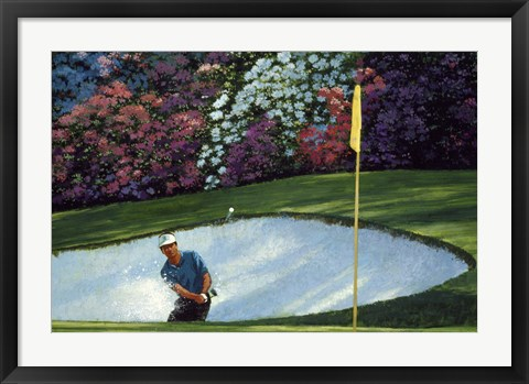 Framed Golf Course 6 Print