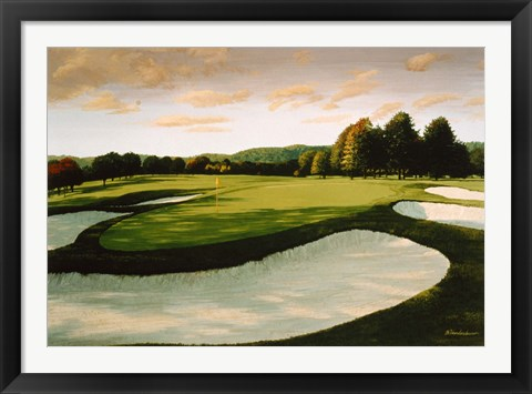 Framed Golf Course  8 Print