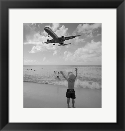 Framed Airplanes 13 Print