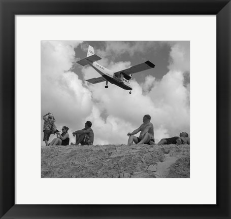 Framed Airplanes 5 Print