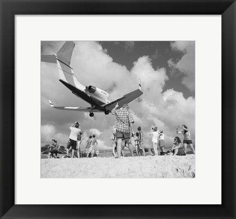 Framed Airplanes 20 Print