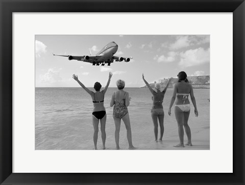 Framed Airplanes 21 Print