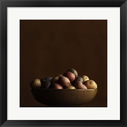 Framed New Potatoes Print