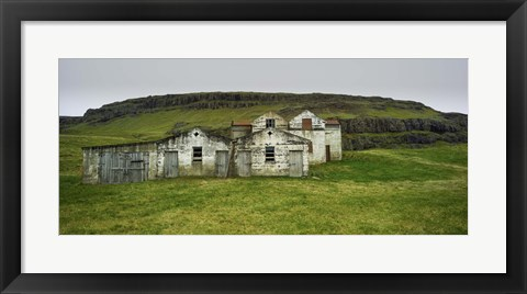 Framed Iceland Warehouse Print