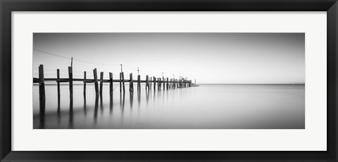 Framed China Camp Panoramic Print