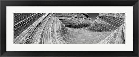 Framed Wave II Print