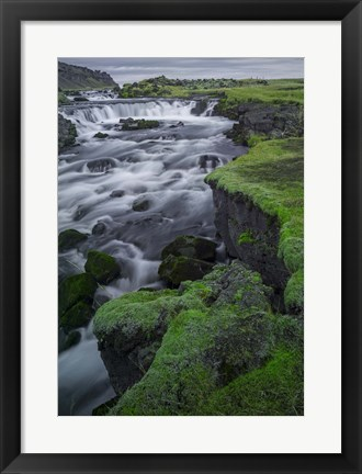 Framed Break Land Print