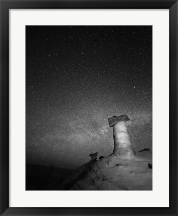 Framed Starry Night in Arizona II Print