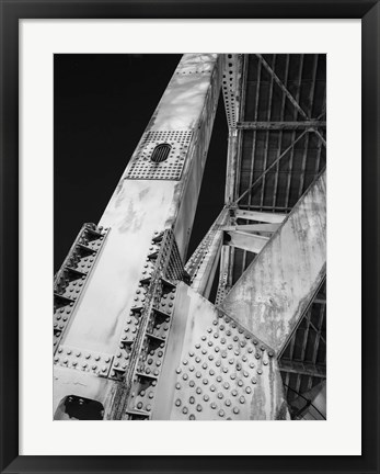 Framed Industrial City 1 Print