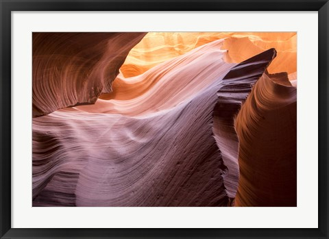 Framed Lower Wave II Print