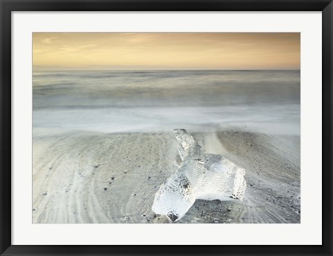 Framed Ice 3 Print