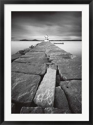 Framed Breakwater Light Print