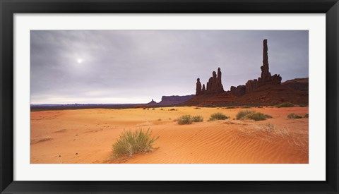 Framed Monument Valley Panorama 1 Print