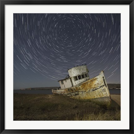 Framed Point Reyes 1 Print