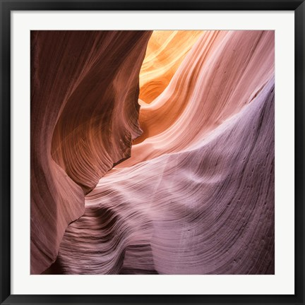 Framed Lower Wave III Print