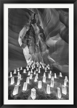 Framed Candle Canyon II Print
