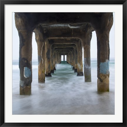 Framed Sea Door 3 Print