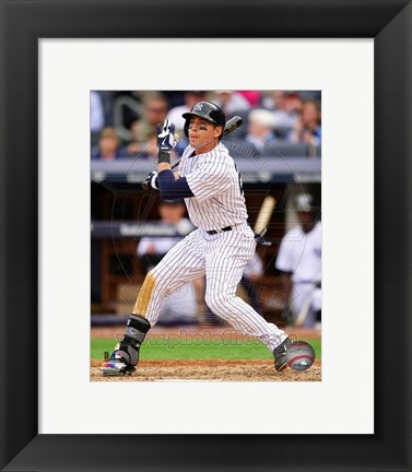 Framed Jacoby Ellsbury 2014 batting Print