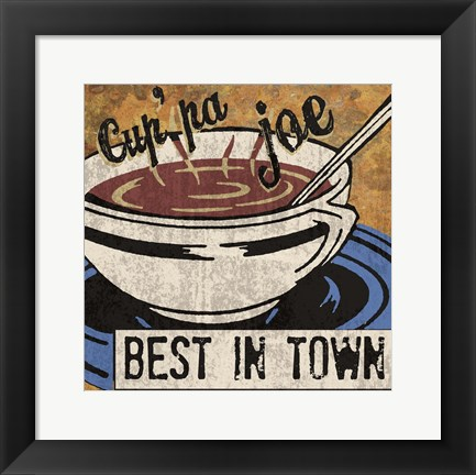 Framed Best in Town Print
