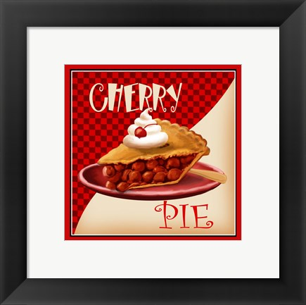 Framed Cherry Pie Print