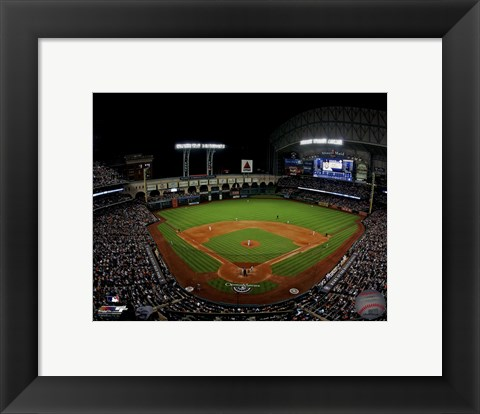 Framed Minute Maid Park 2014 Print