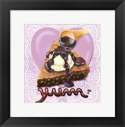 Framed ChocolateYum Print