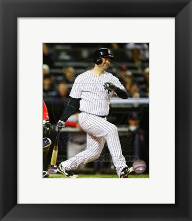 Framed Brian McCann 2014 Action Print