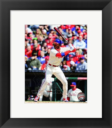 Framed Domonic Brown 2014 Print