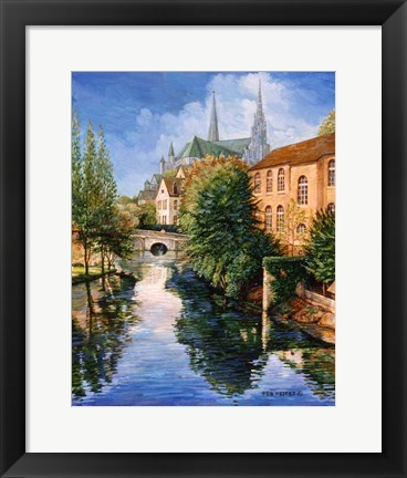 Framed Chartres Print