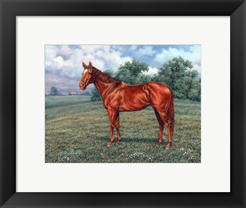 Framed Summer Pasture Print