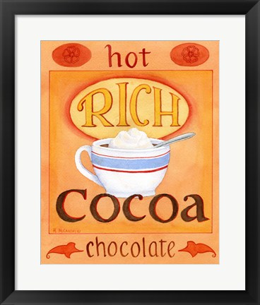Framed Rich Cocoa Print