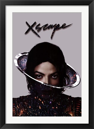 Framed Michael Jackson - Xscape Print